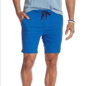NWOT Mr. Swim Solid Royal Blue Cotton Chino Shorts